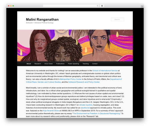Twenty Eleven WordPress template free download - maliniranga.com