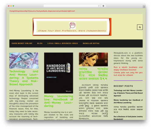 Waylard best WordPress template - moneykerb.com