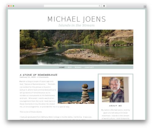 WordPress theme Dreamer - michaeljoens.com
