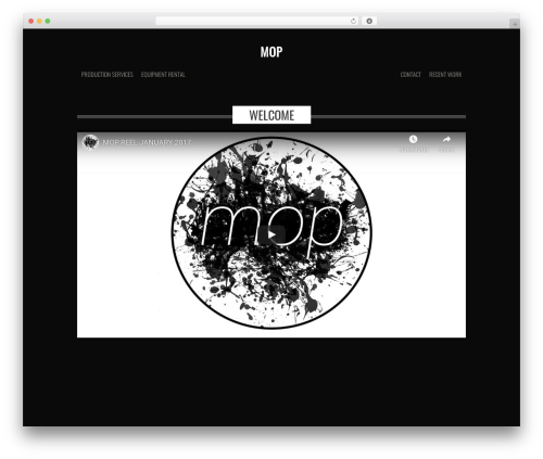 base theme WordPress - mop-la.com