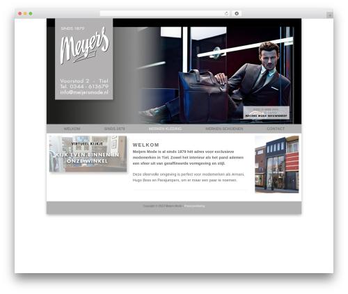 Catalyst top WordPress theme - meijersmode.nl