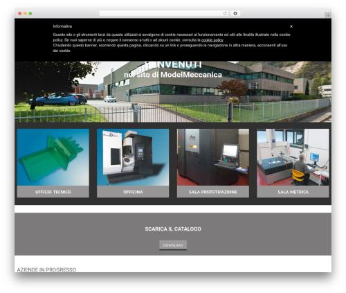 cherry best WordPress template - modelmeccanica.com