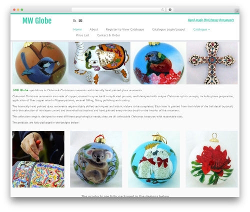 Customizr best free WordPress theme - mwglobe.com.au