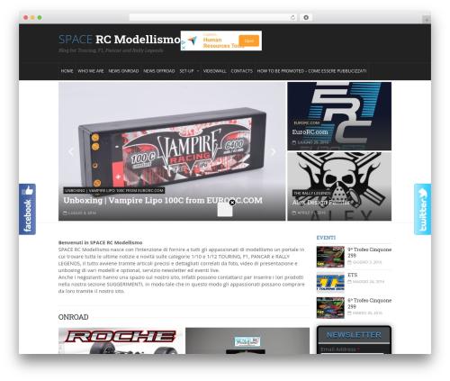 DialyMagazine Premium Theme best WordPress magazine theme - modellismo.in