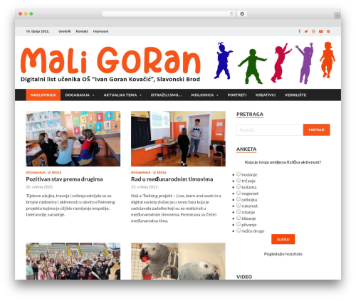 Free WordPress SlickQuiz plugin - maligoran.info