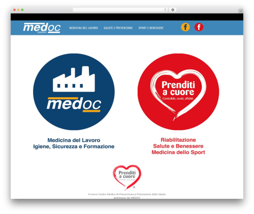 Magazine WordPress theme - medoc.it