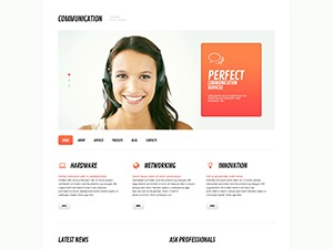 Moving 2014 WordPress template