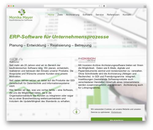 NineZeroSeven theme WordPress - mayer-berlin.de