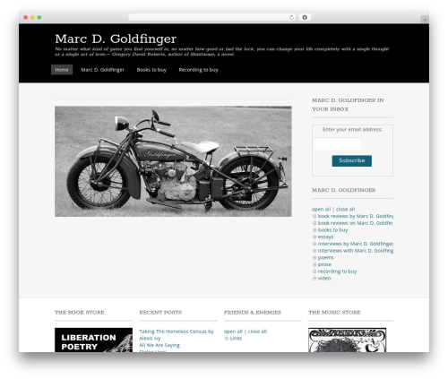 Free WordPress Royal Scroll to Top plugin - marcdgoldfinger.outlawpoetry.com