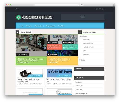 Reviewgine Affiliate WordPress template free - microcontroladores.org