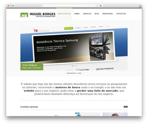 Rover WordPress theme - miguelborges.com