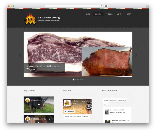 Swatch WordPress theme - meatability.info