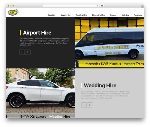 The Moon WordPress travel theme - md-travel.co.uk