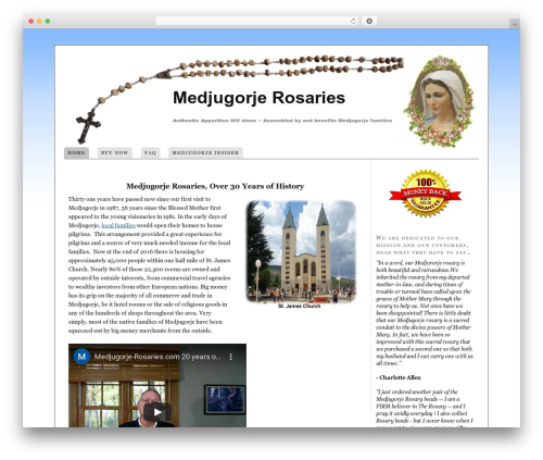 Free WordPress Search Engine Related Posts plugin - medjugorje-rosaries.com