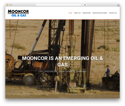 AccessPress Parallax theme WordPress free - mooncoroil.com