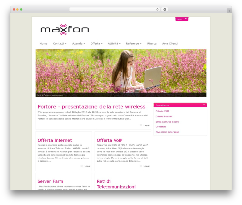 ArtSee WordPress theme - maxfon.it