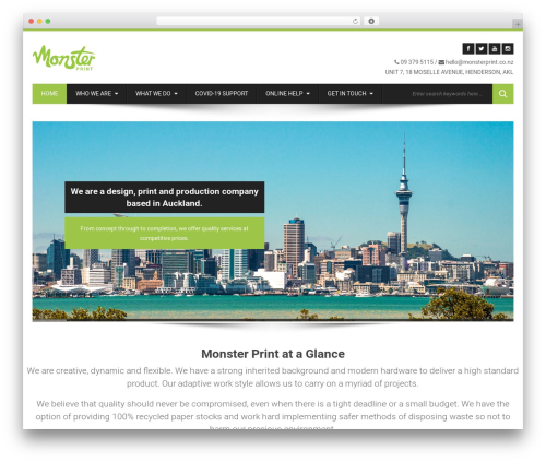 WordPress instagram-picture plugin - monsterprint.co.nz