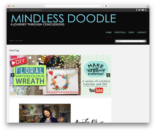 Cubby WP template - mindlessdoodle.ca