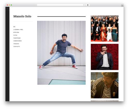 DW Minion WordPress template - manolosolo.com