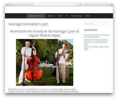 GeneratePress theme free download - mariage-animation-lyon.com