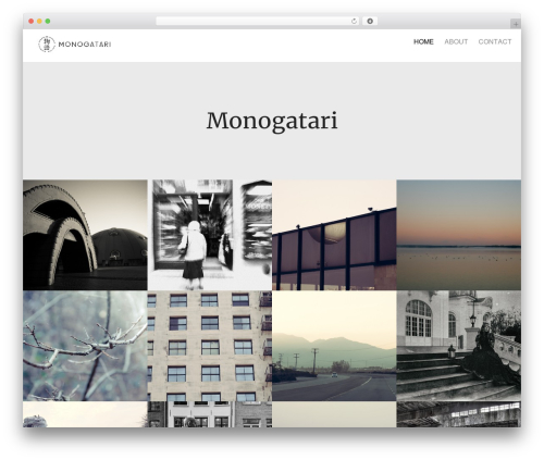 Oren WordPress template - monogatari.eu