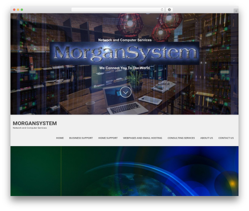 SKT White WordPress theme - morgansystem.com