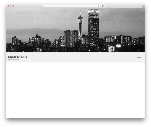 Theme WordPress SKT White - maxenergy.co.za