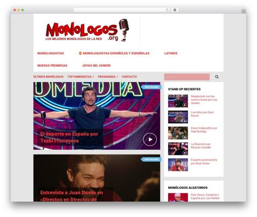 VideoZ best WordPress video theme - monologos.org