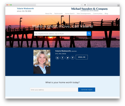 WordPress theme Residential - Theme 1 - mscsarasota.com