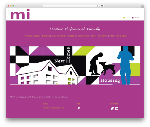 WordPress website template CmsSuperHero - marketing-impact.co.uk