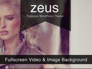 Zeus WordPress template