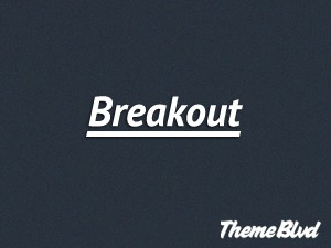 Breakout WordPress template for business