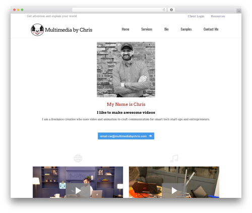 Do.Biz WordPress movie theme - multimediabychris.com
