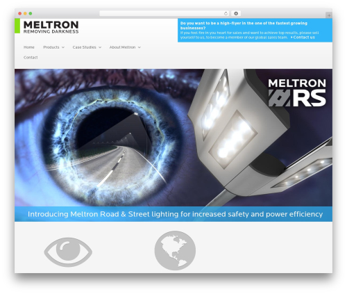 Gantry Theme for WordPress WordPress theme design - meltron.fi