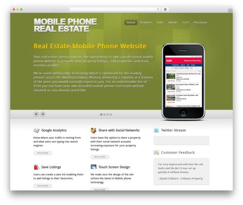 Inspire best real estate website - mobilephonerealestate.com.au