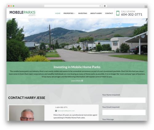 NOO Citilights WordPress theme design - mobileparks.com