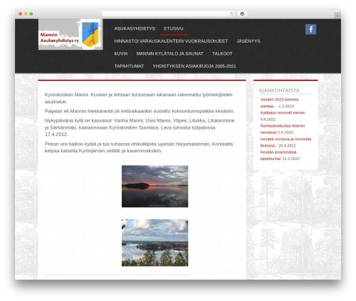 Parallax WordPress template free download - manninkyla.net