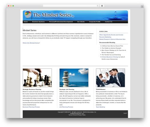 Revolution theme WordPress - mindsetseries.com