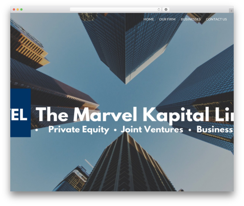 Sydney WordPress template free download - marvelkapital.com