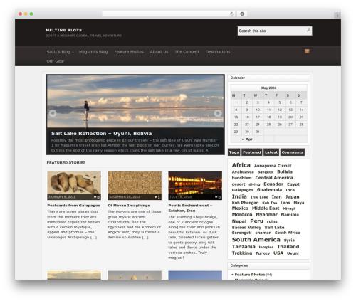 Theme WordPress Arras - meltingplots.com