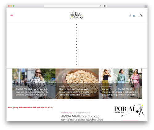 WordPress theme The Voux - marianakalil.com.br
