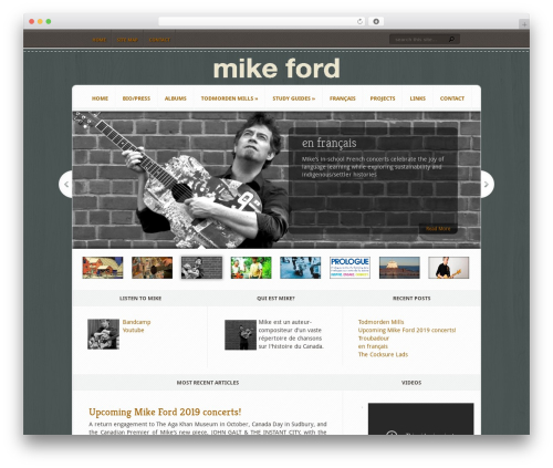 WP template Aggregate - mikeford.ca