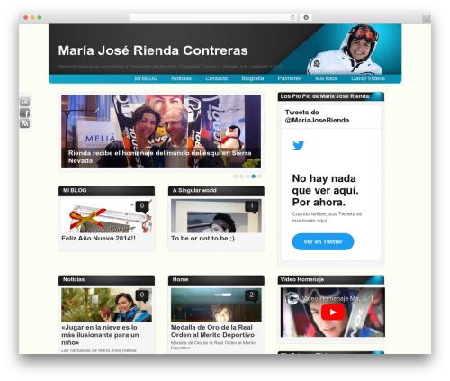 Amphion Lite template WordPress - mariajoserienda.es