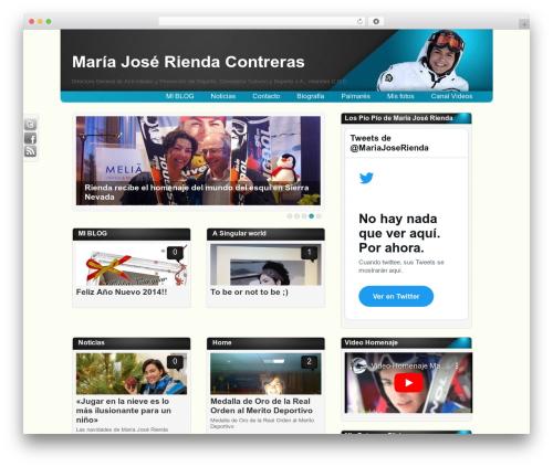 Amphion Lite WordPress page template - mariajoserienda.org
