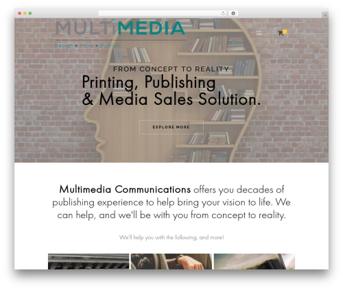 Betheme top WordPress theme - multimediacomms.sg