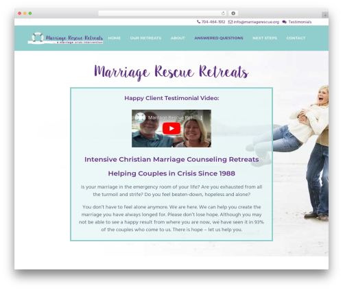 Business Pro business WordPress theme - marriagerescue.org