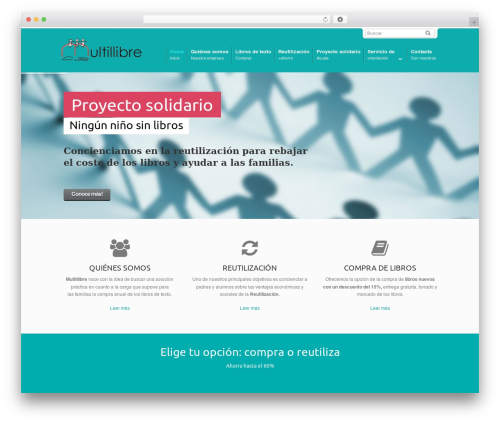 DynamiX theme WordPress - multillibre.com