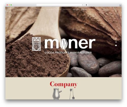Haven WordPress theme - monercocoa.com