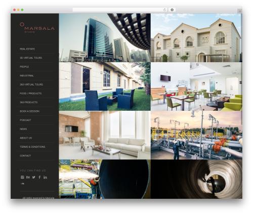 Lens (shared on themestotal.com) template WordPress - marsala-sa.com