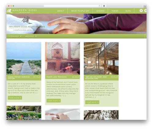 Free WordPress AddToAny Share Buttons plugin - maureengossacupuncture.com